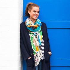 Graffio oversized scarf