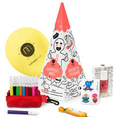 Girls' Party Yeti Surprise Cone
