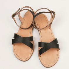 Nuoro black sandals