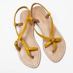 Piana yellow sandals