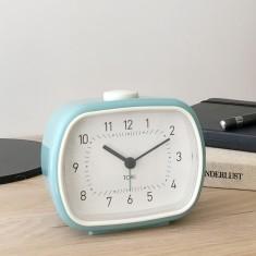 Lisbet SILENT SWEEP alarm clock (various colours) by Toki