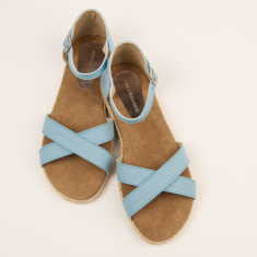 Espadrille women's sky blue sandal