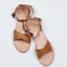 Nuoro tan sandals