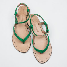 Siena women's sandals in emerald