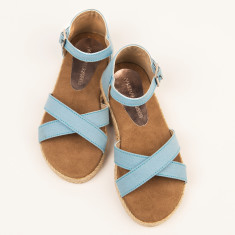 Girls espadrille in blue