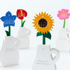 Flowers calendar 2018