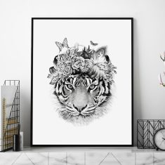 Tiger Queen Art Print