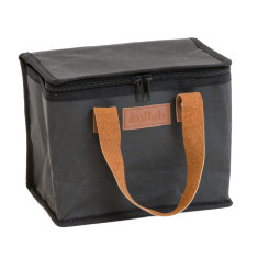 Washable Kraft Paper Insulated Lunch Box in Coal