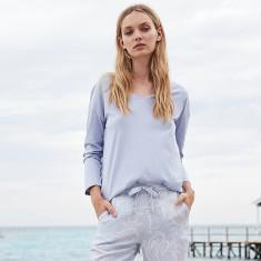 Nora blue paisley pyjama set