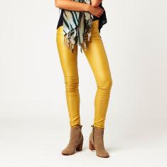 Wax Jeans in Mustard