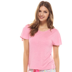 All Night Tee Pink Marle