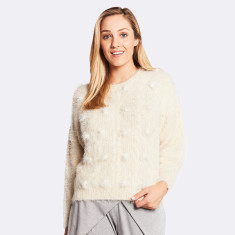 Millie Sweater In Ivory