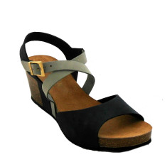 Cork wedge sandals (various colour)