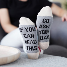 Go ask your dad socks