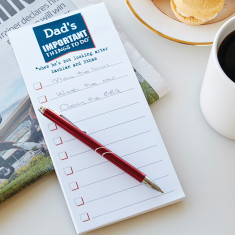 Personalised Dad's Jobs Memo Pad