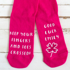 Personalised Good Luck Socks