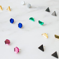 Shape Studs (Set of 3)