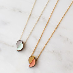 Split Circle Necklace