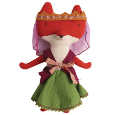 Lady the Fox Soft Toy