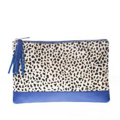 nooki design - dada leather clutch bag