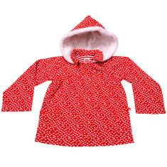 Hattie Red Flutter Heart Jacket