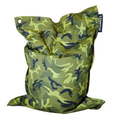 Big indoor/outdoor beanbag in camo