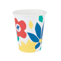 Floral party cups (2 pack)