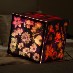Summer night light cube