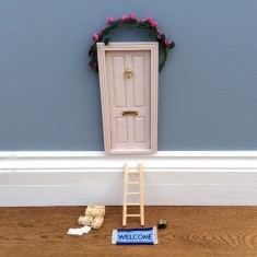 Country magic fairy door (various colours)