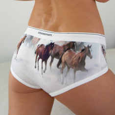 Women's Brief In Horses
