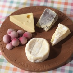 Chocolate Cheese Board For After Dinner