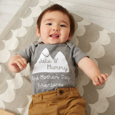 Mother's Day Adventure baby grow