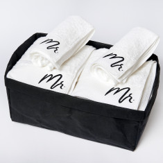 Mr + Mr Bath Towel Gift Set