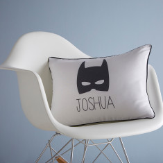 Superhero Personalised Cushion Cover