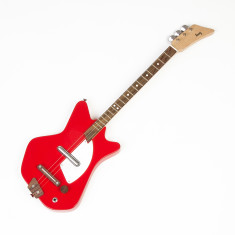 Kids' Wooden Electric Guitar In Rockstar Red