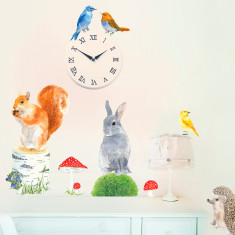 Woodland Animals Wall Stickers (Small)