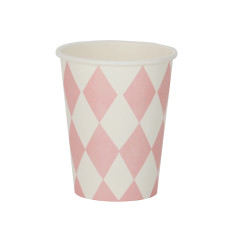 Pink diamonds party cups (2 pack)