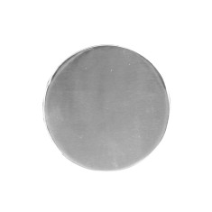 Nickel Circle Coasters (Set of 4)