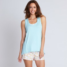 Leura pj short set in mist