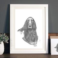 Bespoke Illustrated Pet Portrait