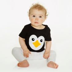Baby's penguin t-shirt