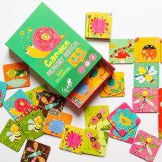 Garden bugs memory game