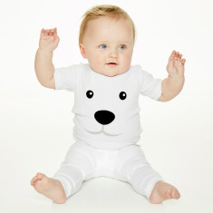 Baby's polar bear t-shirt