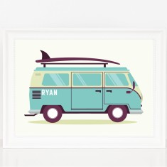 Personalised Summer Kombi Print