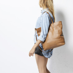 549d9c85b4 by Status Anxiety.  299.95. FREE AU SHIPPING. Fire on the Vine leather bag  in tan
