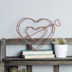 Wire freestanding Heart