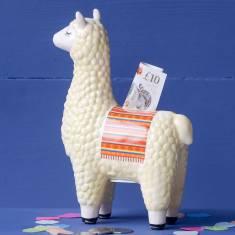 Llama Shaped Money Box