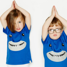 Kids' shark t-shirt