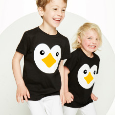 Kids' penguin t-shirt
