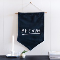 Dream wall flag